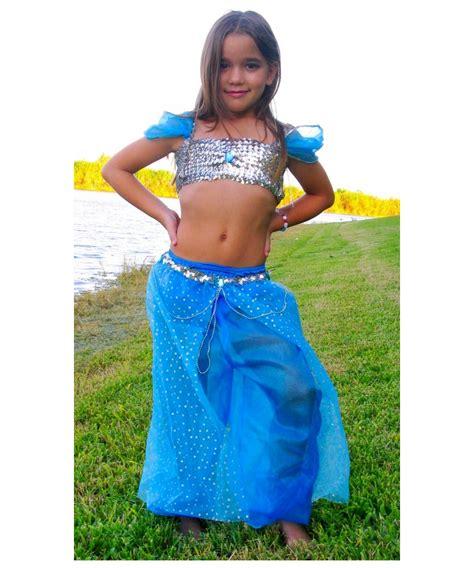 Blue Magic Genie Kids Costume   Girls Genie Costumes