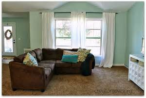 palladian blue benjamin our brown sectional which i despise is even semi tolerable with the