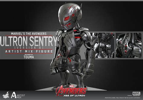 Toys Cosbaby Age Of Ultron Ultron Sentry age of ultron toys artist mix figures revealed marvel news