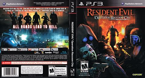 Ps3 Resident Evil Operation Racoon City blus30750 resident evil operation raccoon city