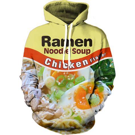chicken ramen hoodie all over print apparel getonfleek