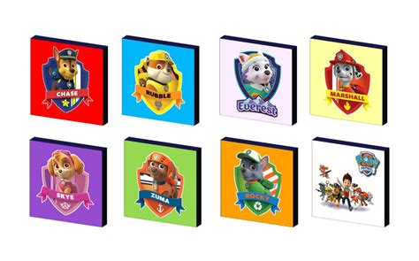 Kanvas You paw patrol characters canvas picture you choose ebay
