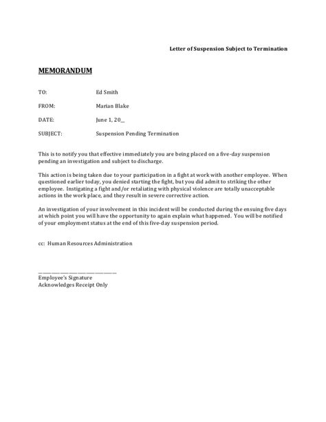 suspension from work letter template suspension letter for employee all the best suspension