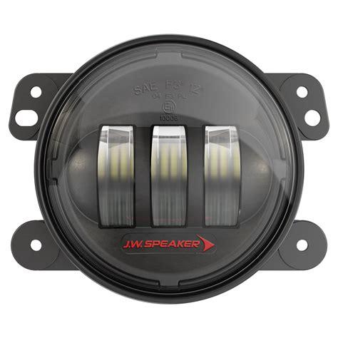 jeep tj led fog lights j w speaker 6145 j2 series led fog lights for 07 18 jeep