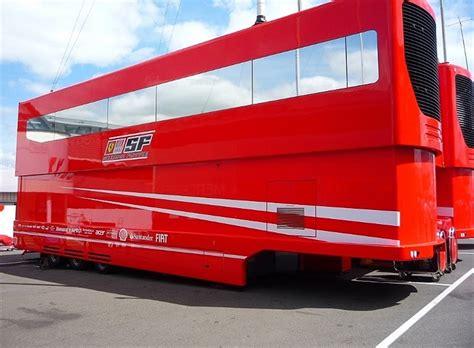 ferrari f1 factory ex ferrari f1 factory hospitality trailer paddock 42