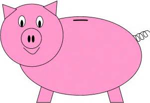 piggy bank template free download clip art free clip art clipart library