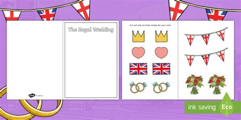 design a wedding invitation ks1 design a royal wedding card activity prince harry meghan