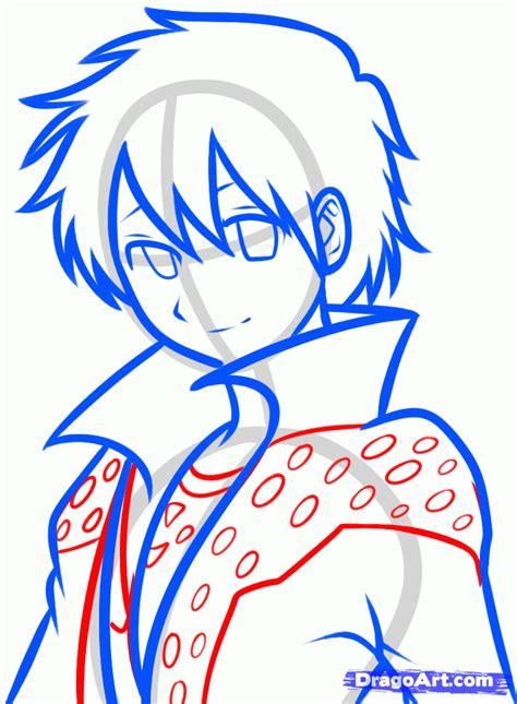 draw oline how to draw kirito kirito from sword step by