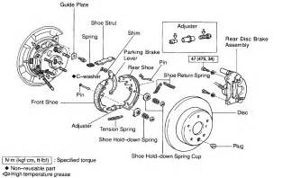 State Five Preliminary Brake System Checks 1999 Toyota Camry Rear Brakes Wouldnt The Rotor And The