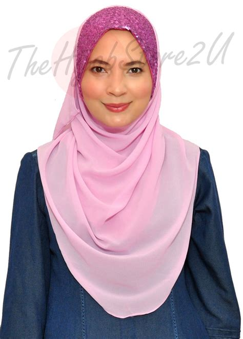 Pashmina Instant Almeira 2 instant shawl thehijabstore2u tudung
