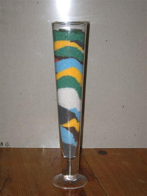 sabbia colorata per vasi vaso con sabbia per la casa e per te decorare casa