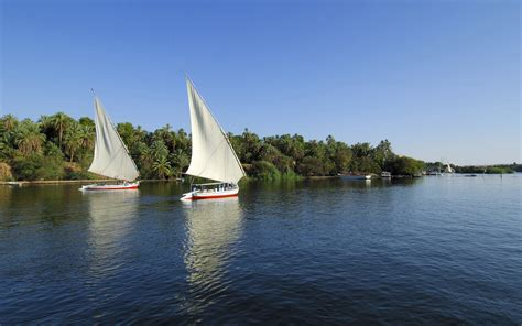 nile sailboats sailboats on the nile egypt wallpapers and images