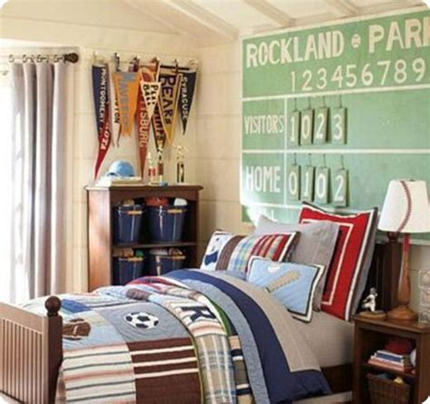 baseball themed room