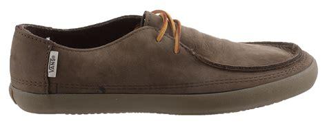 vans boat shoes leather mens vans rata vulc nubuck leather surf boat shoes mocha