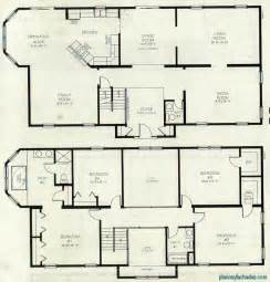 Small 2 Story Floor Plans 15 planos de casas peque 241 as de dos pisos planos y