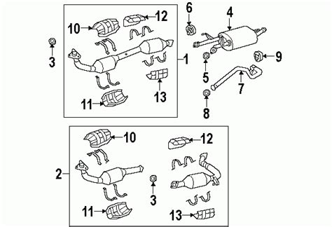 2008 Toyota Tundra Parts Diagram Automotive Parts