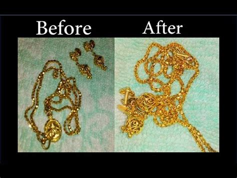 how to make gold jewelry gold again how to clean gold jewellery at home simple hacks