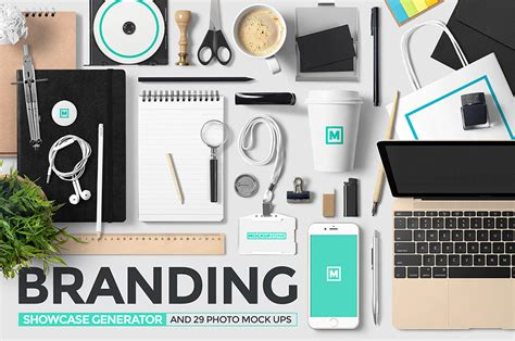 design mockup generator branding showcase generator and photos design cuts