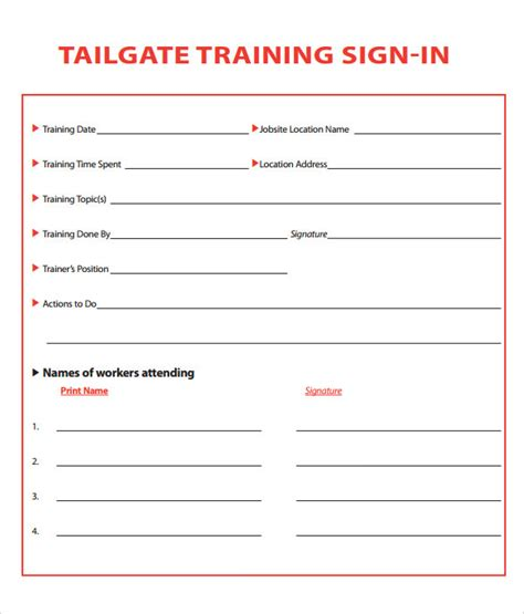 sign in template free sle sign in sheet 13 documents in pdf
