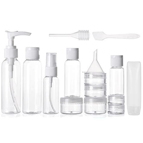 Travel Size Container Set alink travel size toiletry bottles set tsa approved clear