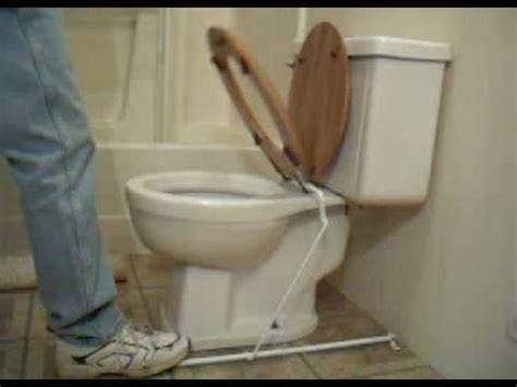 toilet seat lifter pedal foot operated toilet seat lifter