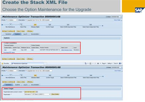 xml tutorial step by step how to create stack xml file screens step by step sap