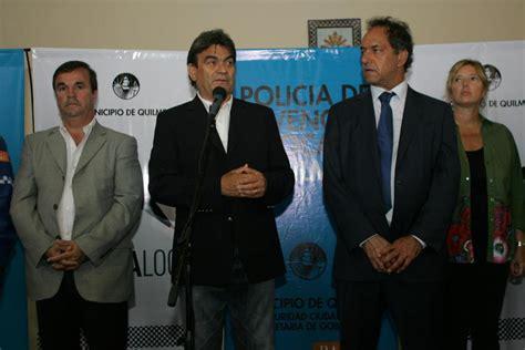 como anotarme en la policia local de berazategui 2016 el intendente guti 233 rrez y el gobernador scioli inauguraron