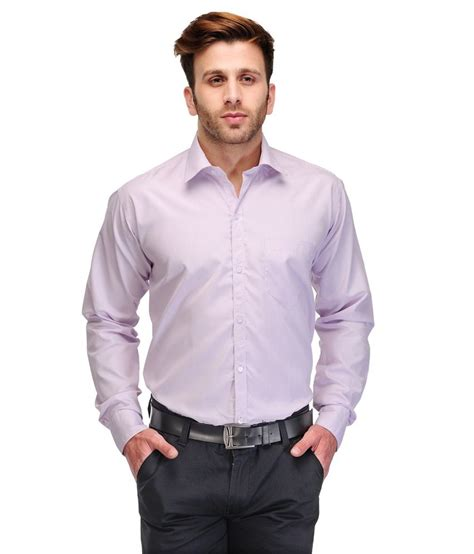 koolpals cotton blend purple striped s shirt buy