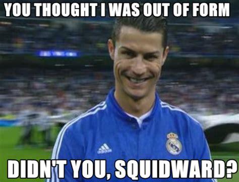 Ronaldo Meme - soccer memes on twitter quot cristiano ronaldo hat trick in 8