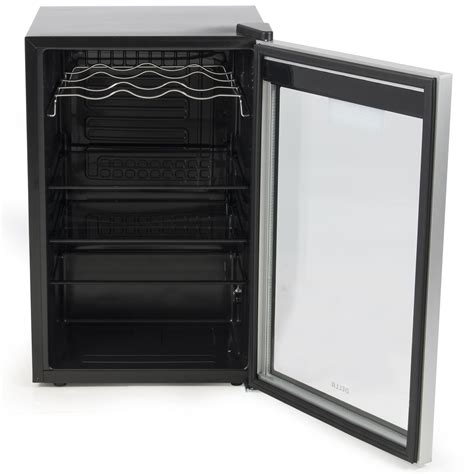 Mini Fridge With Wine Rack by Digital Touch Led Beverage Wine Cooler Chiller Rack Mini