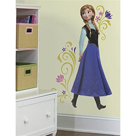 roommates wall stickers uk roommates frozen childrens repositionable wall stickers multi colour and tv figure