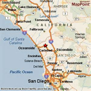 map vista california vista california