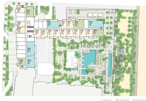 1 floor motel floorplans for miami penthouse 1 hotel homes south