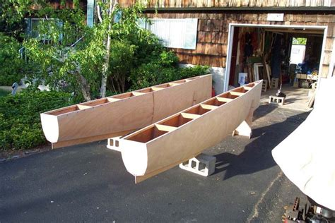wooden catamaran boat 1000 images about diy boats on pinterest duck boat
