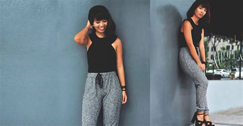 whos the black girl in the jogging suit in the liberty mutual commercial 12 stylish and comfy jogger pants for women
