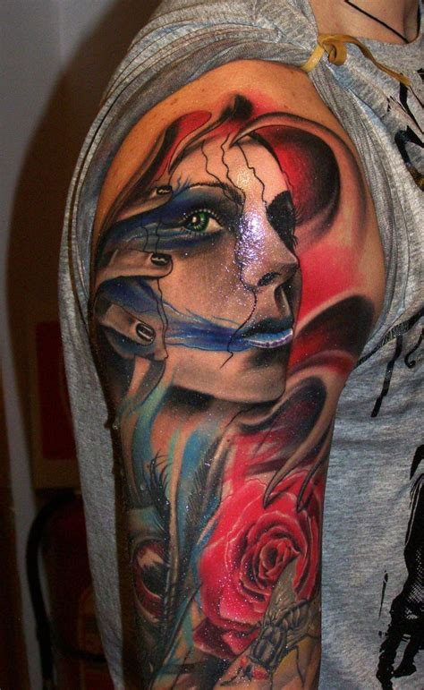 new school realism tattoo realistic tattoo big tattoo planet community forum