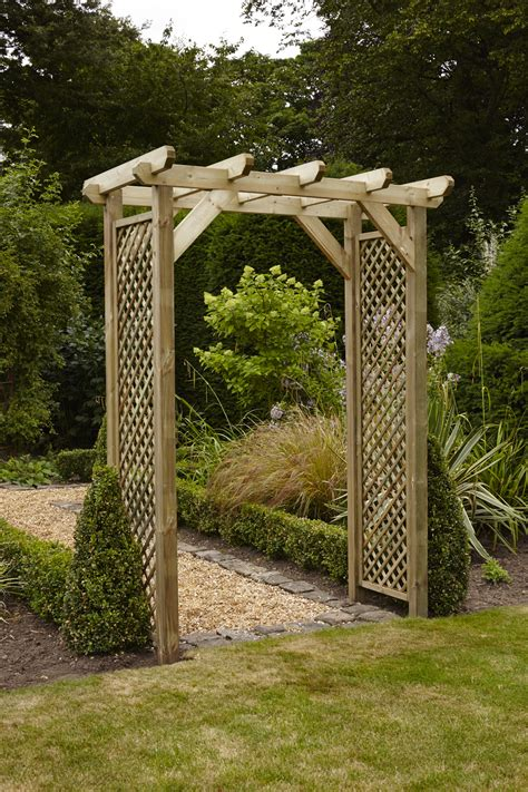 Garden Arch For Sale Nz Anchor Fast Squared Lattice Arch Simply Wood