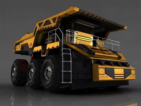 future dump truck concept     futuristic dumptruc flickr