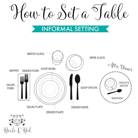 how to set a table for dinner how to set the table easy guide to informal and formal
