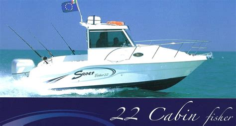 saver 22 cabin fisher saver