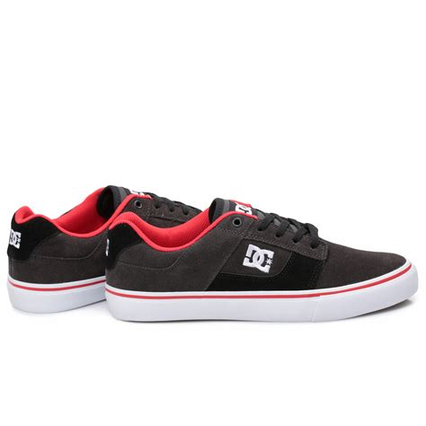 Sneakers Redblack dc shoes bridge suede black mens trainers sneakers