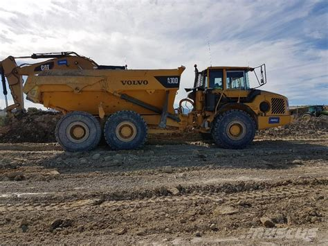 used volvo a 30 d articulated dump truck adt year 2002