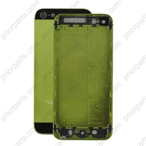 iphone 5 housing replacement for iphone 5 back housing cover green