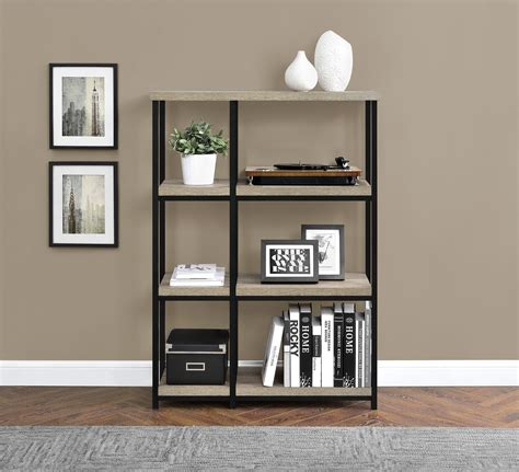 kmart 5 shelf bookcase dorel elmwood 3 shelf sonoma oak bookcase