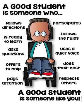 How To Be A Student a student poster differently abled someone who by