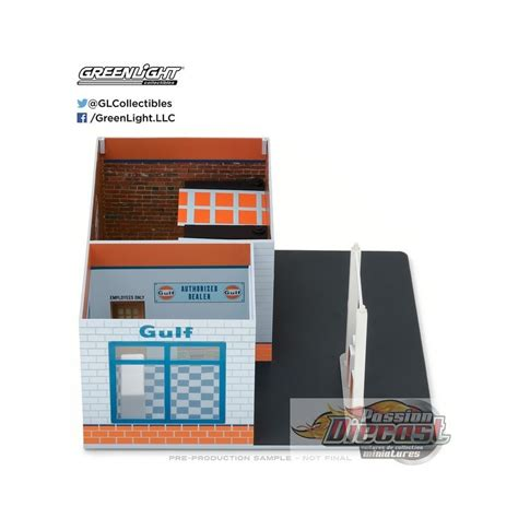 Diorama Mechanics Corner Series 1 Vintage Gas Station Texaco By Gl mechanics corner series 1 vintage gas station gulf