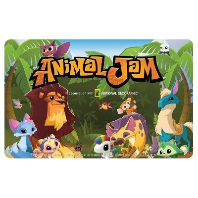printable animal jam gift certificate animal jam 3 month subscription 18 95 email delivery