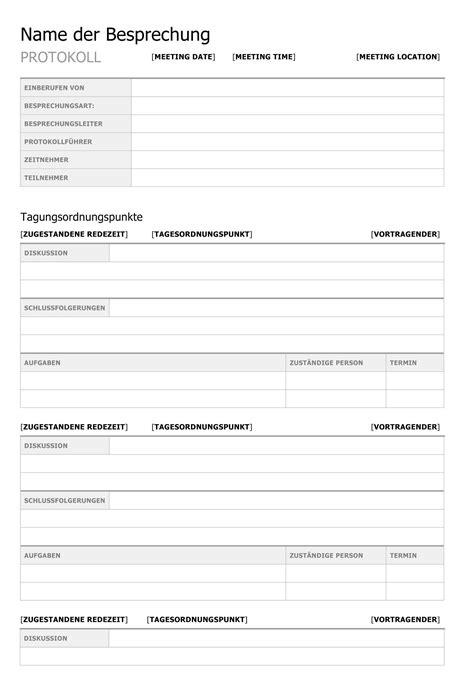 Word Vorlage Besprechungsprotokoll b 252 rgschaft vorlage pdf vorlagen kostenlos