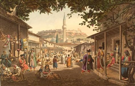 the ottoman society file bazar of athens jpg wikimedia commons