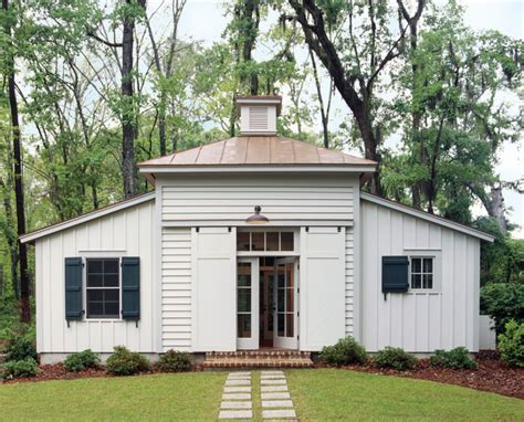 Historical Concepts Home Design | tobacco shed guesthouse spring island south carolina